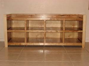 Free Woodworking Shoe Rack - DIY Woodworking Projects