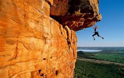 Climbing Wallpapers Rock Woman