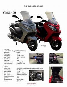 New Linhai 400 Scooter