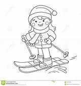 Coloring Paginaoverzicht Kleurend Pensionair Oefening Raad Uiterste Inschepen Fleuve Skis Skier Parasail Snowboarding Ohbq sketch template