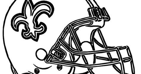 helmet football saints  orleans coloring pages dementia arts crafts pinterest helmets