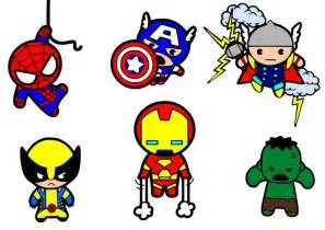 Superheroes Svg Files Are Just The Cutest... In My Humble