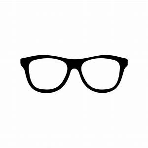 Hipster Glasses graphics design SVG DXF EPS by ...