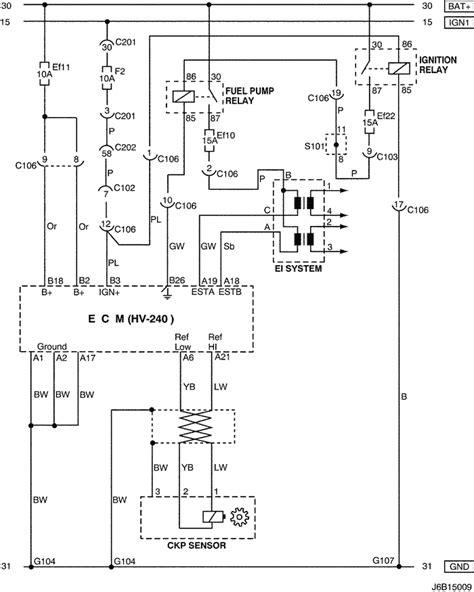 electrical wiring diagram 2006 nubira lacetti 3 ecm engine module hv 240
