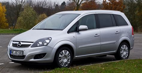 Opel Zafira by 2012 Opel Zafira B Pictures Information And Specs