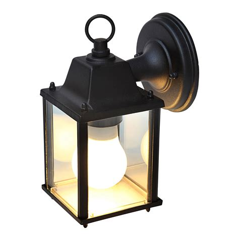 blooma sollies black external wall light departments
