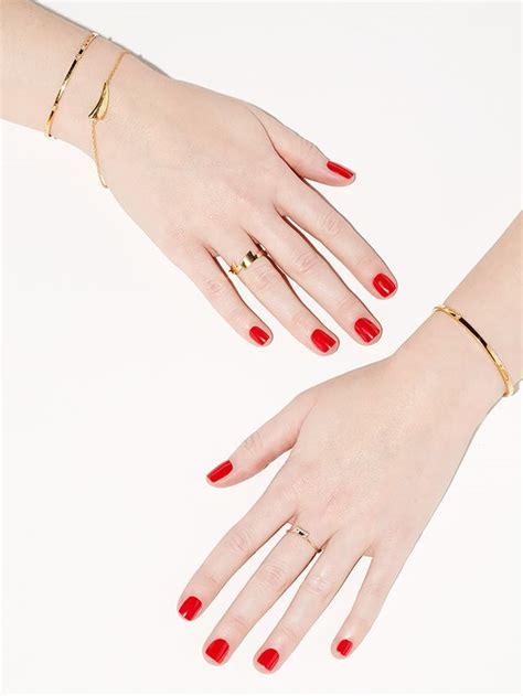 remove bright nail polish  staining