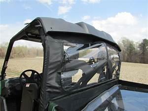 Soft Rear Dust  U0026 Window Panel  U2013 Yamaha Viking  U2013 Seizmik