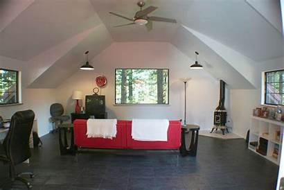Garage Studio Above Story Projects Interior Fieldbrook