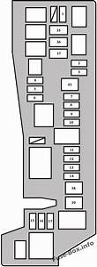 Fuse Box Diagram Toyota Matrix  E130  2003