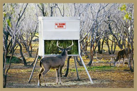 all seasons feeders all seasons hay feeder buck stop deer blinds