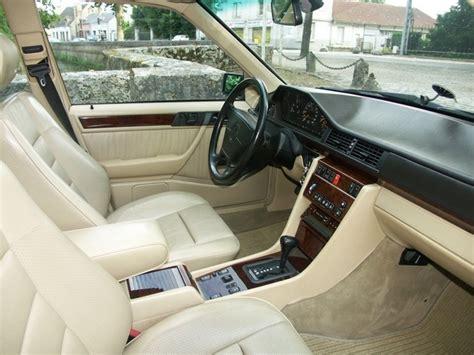 interieur cuir mercedes w124 historique la mercedes 500e e500 w124 1990 1995