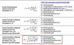 Rauminhalt Berechnen Liter : windungszahl mit frequenz ~ Themetempest.com Abrechnung