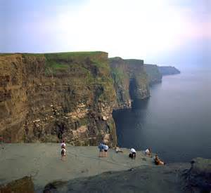 Galway Ireland Cliffs of Moher Map