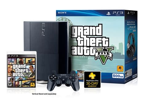 Win A Playstation 3 With Grand Theft Auto V