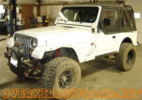 Jeep Yj Custom Fabrication Work