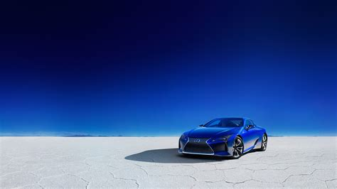 2018 Lexus Lc500h Structural Blue Edition 4k Wallpapers