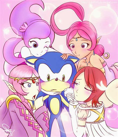 Sonic Fangirls By Idolnya On Deviantart