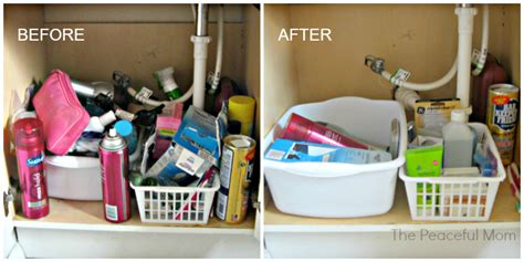10 Minutes A Day Decluttering Under The Bathroom Sink