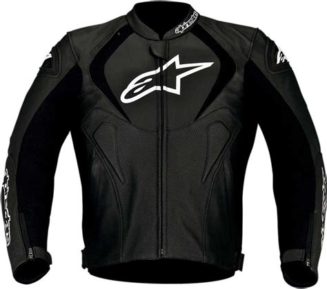 mens leather riding jacket 2016 alpinestars jaws perforated leather jacket street