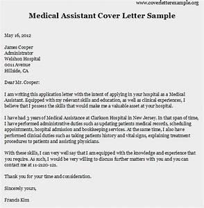 Medical Assistant Cover Letter Sample On Behance Sample Cover Letter For Medical Assistant Sample Of Cover Letter Medical Assistant Sample Templatex1234 9 Job Application Letter For Doctors Ledger Paper