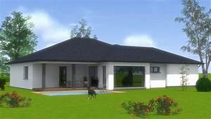 Maison Plain Pied En L : construction maison de plain pied maisons begimaisons begi ~ Melissatoandfro.com Idées de Décoration