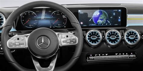 2018 Mercedesbenz Aclass Interior Revealed  Photos (1