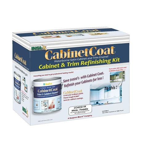 insl x cabinet coat reviews insl x cabinet coat 1 gal kit includes white trim and