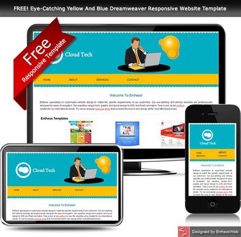 html  css website templates entheosweb