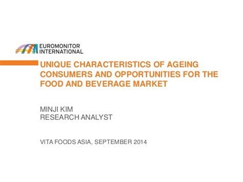 characteristics of cuisine unique characteristics of ageing consumers and