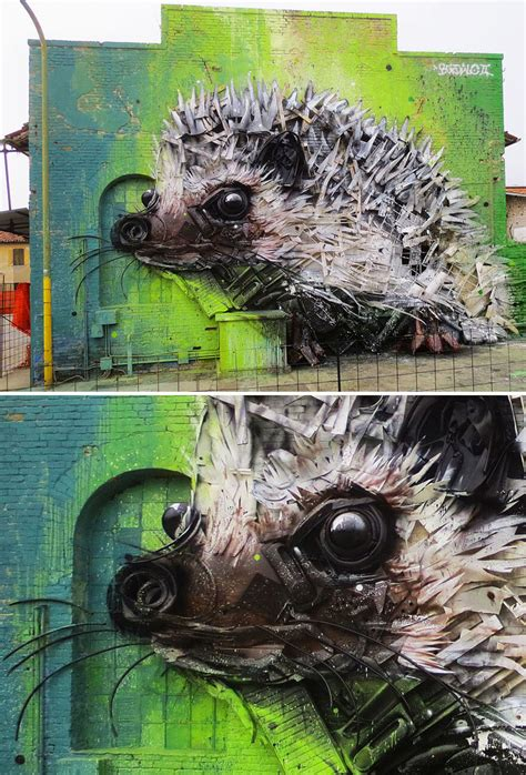 artur bordalo creates art  trash  remind