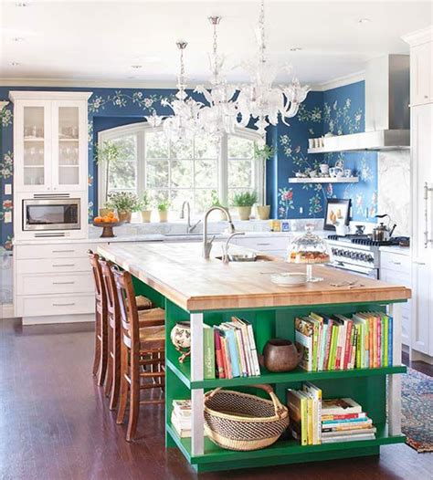 colorful kitchen islands 20 colorful kitchen ideas in small spaces house design and decor