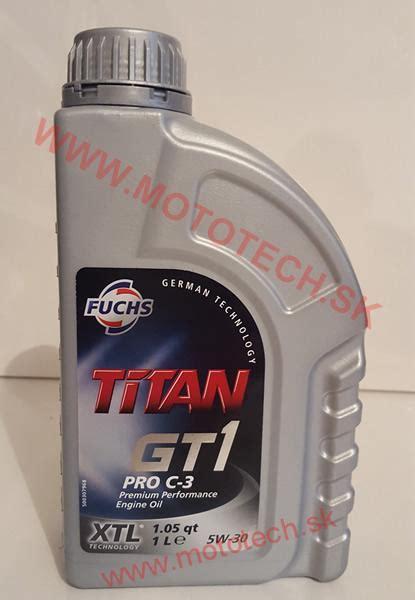 fuchs titan gt1 pro c 3 5w 30 motorov 253 olej fuchs titan gt1 pro c 3 5w 30 xtl 1l