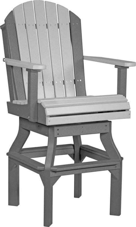 Amish Adirondack Chairs Polywood by Luxcraft Poly Wood Adirondack Swivel Chair From