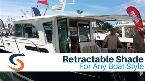Boat Brands Starting With V by Sureshade Retractable Sunshade For Any Boat Brand
