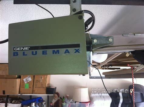 genie blue max garage door opener  regard