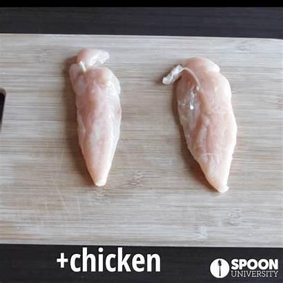 Chicken Pan Step Veggies Balsamic Minutes Olive