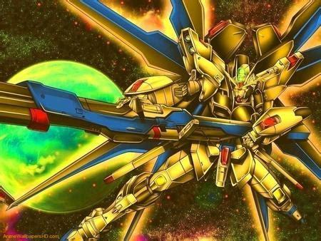 gold gundam gundam seed anime background wallpapers