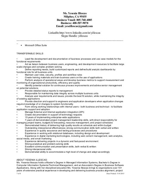 Combined Resume And Cover Letter by Yillescas Cover Letter Resume Combined 051815