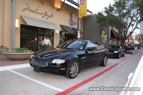 Maserati Of Dallas by Maserati Quattroporte Spotted In Dallas On 10 23
