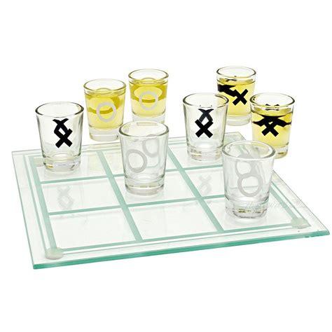 game drinking shot tic tac toe shots games drink mesa juego jogo velha chupitos glasses glass juegos tres raya sanxia