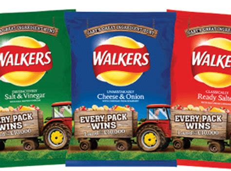 walkers crisps ingredient hunt gary promo confusion codes promotion around pack latest