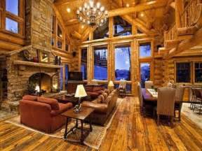 interior of log homes awesome log cabins 36 pics