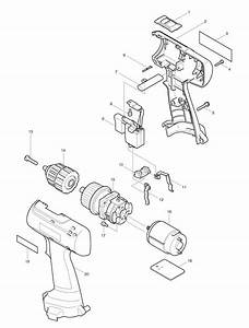 spares for makita 6226d drill driver spare 6226d from With mag light parts