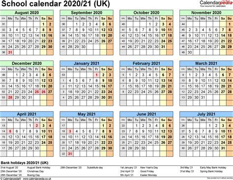 school calendars printable excel templates
