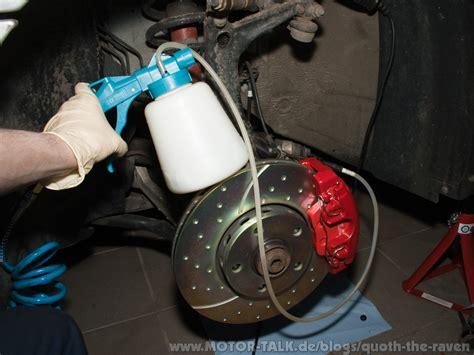 motorrad bremse entlüften bremsen teil 3 zusammenbauen und entl 252 ften quoth the
