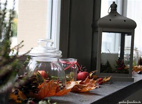 Herbstdeko Fensterbank Außen by Herbst Auf Der Fensterbank Garten Fr 228 Ulein Der Garten