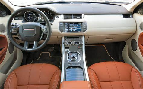 range rover evoque interieur l int 233 rieur tout cuir est superbe galerie photo 3 20 le guide de l auto
