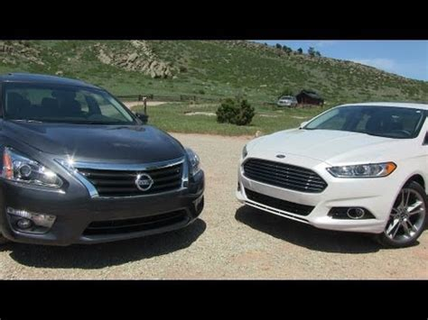 Ford Fusion 0 60 by 2013 Ford Fusion Vs Nissan Altima 0 60 Mph Mile High