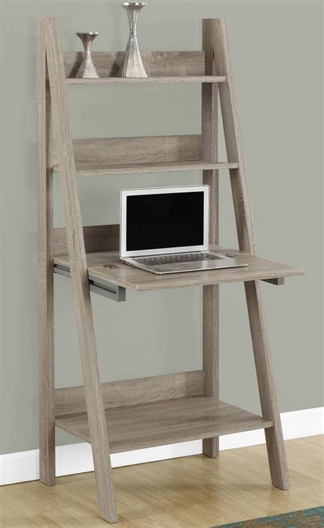 ladder style desk computer desk notebooks homework and to the wall 3625